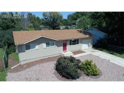 Single Family Home For Sale: 4350 S Blissful Circle