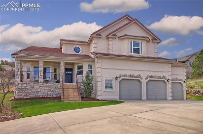 Colorado Springs Single Family Home Under Contract - Showing: 8030 Hedgewood Way