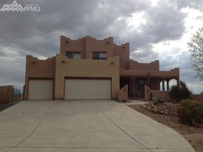 Pueblo Single Family Home For Sale: 35178 Hidden Mesa Drive