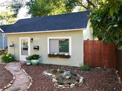 Single Family Home For Sale: 510 S Cedar Street
