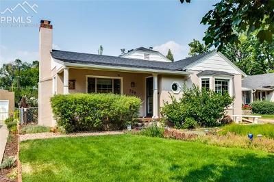 Colorado Springs Single Family Home For Sale: 728 N Sheridan Avenue