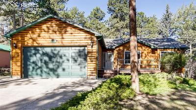 Woodland Park Single Family Home For Sale: 730 Log Haven Drive