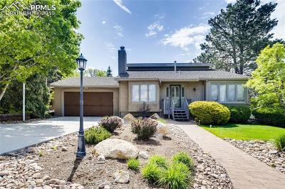 Colorado Springs Single Family Home For Sale: 5945 Leewood Drive