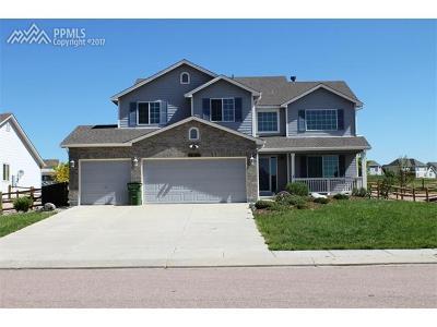 Peyton Single Family Home For Sale: 12166 Rio Secco Road