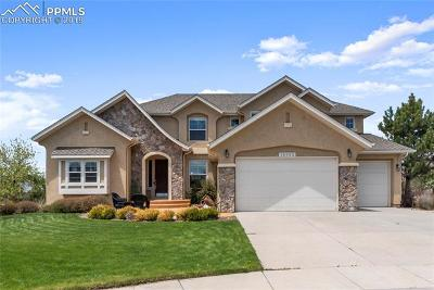El Paso County Single Family Home For Sale: 13992 Windy Oaks Road
