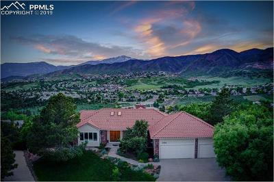 Colorado Springs Single Family Home For Sale: 2560 Oak Hills Drive