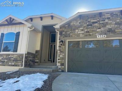 Colorado Springs Single Family Home For Sale: 5334 Old Star Ranch View