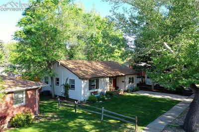 Colorado Springs Single Family Home For Sale: 522 Valley Road