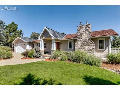 Colorado Springs Single Family Home For Sale: 7130 Suntide Place