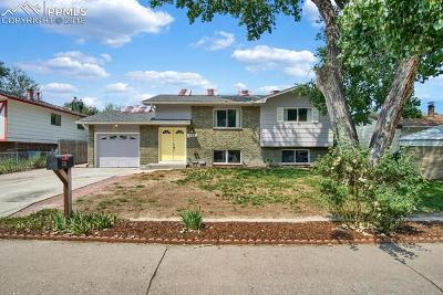 Colorado Springs CO Single Family Home For Sale: $258,000