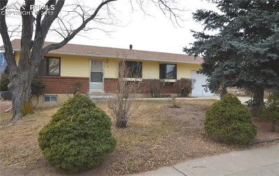 Colorado Springs Single Family Home For Sale: 10 W Clover Circle