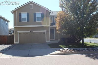 Colorado Springs Single Family Home For Sale: 4803 Turning Leaf Way