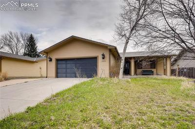 Colorado Springs Single Family Home For Sale: 4305 Mallow Road