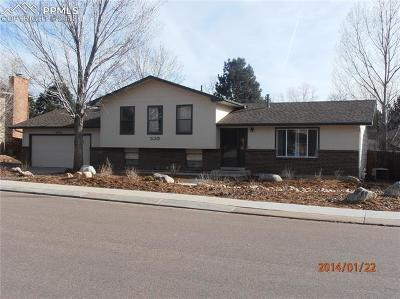 Colorado Springs Single Family Home For Sale: 535 Silver Springs Circle