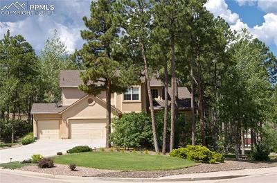 Colorado Springs Single Family Home For Sale: 15954 Backwoods Court