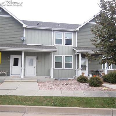 El Paso County Condo/Townhouse For Sale: 5230 Dovetail Lane