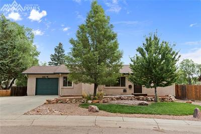 El Paso County Single Family Home For Sale: 1208 Morning Star Drive