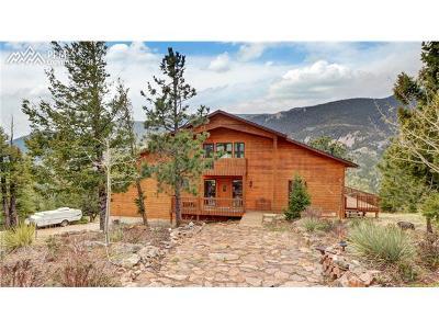 Manitou Springs Single Family Home For Sale: 520 Sunrise Peak Road