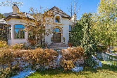 El Paso County Single Family Home For Sale: 3810 Cheyenne Mountain Zoo Road