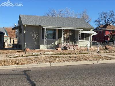Pueblo Single Family Home For Sale: 806 E Routt Avenue