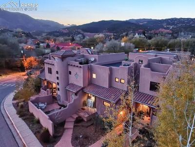 Manitou Springs Condo/Townhouse For Sale: 27 Crystal Park Road