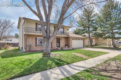 Colorado Springs Single Family Home For Sale: 1309 Tesla Drive