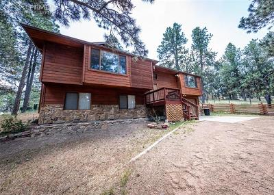 El Paso County Single Family Home For Sale: 8885 Branch Place