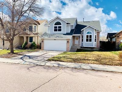 Colorado Springs Single Family Home For Sale: 8910 Bellcove Circle