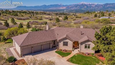 Colorado Springs Single Family Home For Sale: 14560 Sun Hills Drive