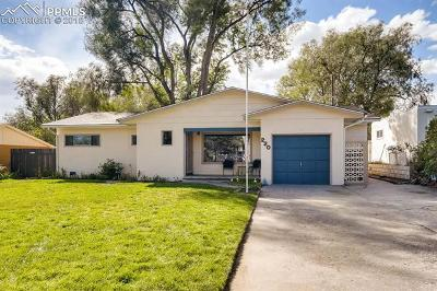 Colorado Springs Single Family Home Under Contract - Showing: 220 Jasper Drive