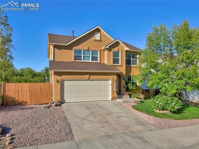 Fountain Single Family Home For Sale: 852 Ridgebury Place