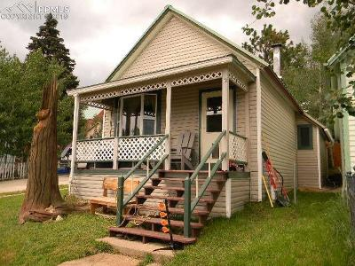 Cripple Creek Single Family Home For Sale: 325 E Eaton Avenue