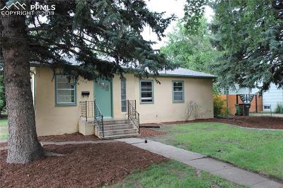 Colorado Springs Single Family Home For Sale: 1318 E Madison Street