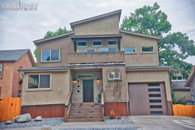Colorado Springs Single Family Home Under Contract - Showing: 124 N Corona Street
