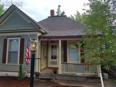Old Colorado City Single Family Home For Sale: 2307 W Pikes Peak Avenue