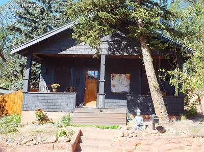 Manitou Springs Single Family Home For Sale: 115 Cave Avenue