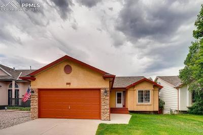 Colorado Springs Single Family Home For Sale: 1155 Westmoreland Road