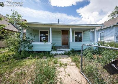 Colorado Springs Single Family Home Under Contract - Showing: 1017 E Costilla Street