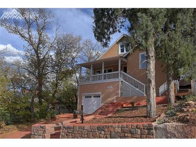 Manitou Springs Single Family Home For Sale: 209 Elk Path