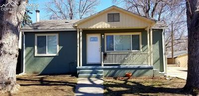 Colorado Springs Single Family Home For Sale: 311 Farragut Avenue
