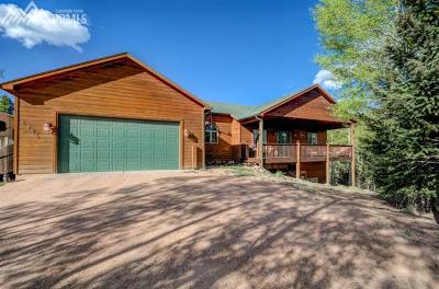 Cripple Creek Single Family Home For Sale: 2976 County 61 Road