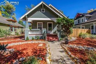 Colorado Springs Single Family Home For Sale: 1220 W Colorado Avenue