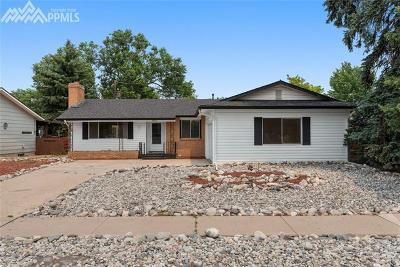 Colorado Springs Single Family Home For Sale: 2806 Greenwood Circle
