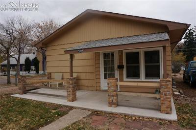 Old Colorado City Single Family Home For Sale: 2203 W Platte Avenue