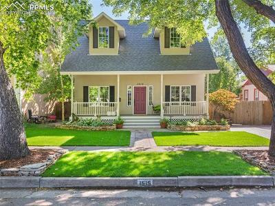 Colorado Springs Single Family Home For Sale: 1515 N Franklin Street