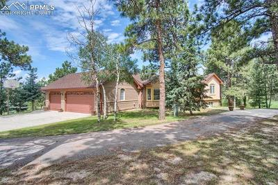Colorado Springs Single Family Home For Sale: 18510 Woodhaven Drive