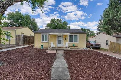Colorado Springs Single Family Home For Sale: 925 Prairie Road