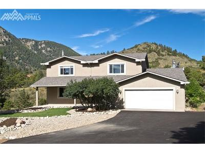 Green Mountain Falls Single Family Home For Sale: 9625 W Highway 24 Highway
