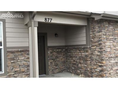 Monument Condo/Townhouse For Sale: 877 Timber Lakes Grove
