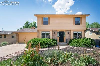 Colorado Springs Single Family Home For Sale: 545 Allegheny Drive